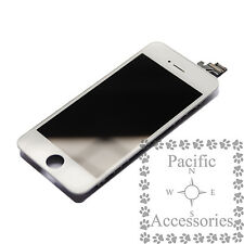 "Replacement Front Glass LCD Screen Digitizer Assembly For iPhone 5 4"" LCD White"