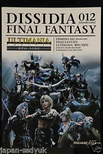 JAPAN Dissidia 012 Final Fantasy Ultimania Rpg Side 2011