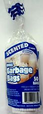 New Scented Small Garbage Trash Bags - Vanilla (50 Ct) 4 Gallon FREE SHIPPING
