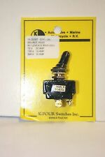 K-FOUR [K-4] OFF-ON TRIPLE SEALED SWITCH w/SCREW TERMINALS-12VDC-20A (13-200ST)