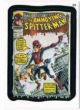2006 Topps Wacky Packages Series 3 SpitterMan Trading Card 29 ANS3