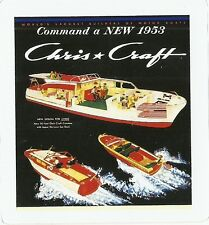 CHRIS CRAFT BOATS  Sticker Decal