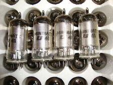 EF41 TUBE. MINIWATT BRAND TUBE. D GETTER 1950 VERSION.  NOS TUBE. RC107.