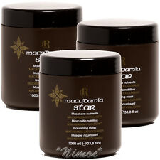 Macadamia Star Nourishing Mask 3 x 1000ml RR Line ® Racioppi Maschera + Collagen