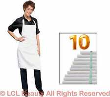 10 Waterproof Chemical Proof Aprons Stylist Technician Apron Spa Hair Salon W
