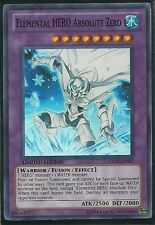 Yugioh GENF-ENSE1 Elemental HERO Absolute Zero SUPER RARE Card (Near-Mint))