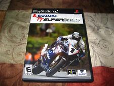Suzuki TT Superbikes: Real Road Racing (Sony PlayStation 2, 2005) Manual Incl.