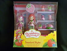 Strawberry Shortcake 10+ piece Doll set - SWEETEST STYLES - RARE - New