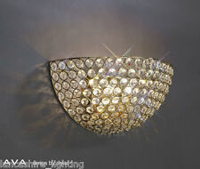 Diyas IL-IL30758 ava double wall light french gold finish