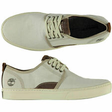 Timberland UK 9.5 Adventure Cupsole Mixed Media Oxford Natural Shoes Trainers