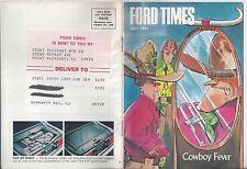 Ford Times July 1981 T-Bird  Lu/81 Edward Towe.s Collection Model T A News 81