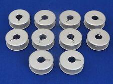 10 BOBINE alluminio grandi dimensioni si adatta SINGER 29k72 29u171 29u172a macchine