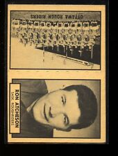 1962 TOPPS CFL FARRELL FUNSTON BLUE BOMBERS CAM FRASER TIGER-CATS NRMINT D01489