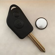 Citroen Saxo Xsara Picasso Berlingo 2 Button Remote Key Fob case Repair Kit