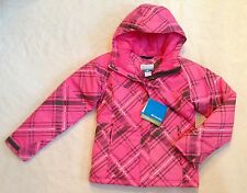 COLUMBIA Girls Snow Jacket Parka OMNI-SHIELD Triple Run Pink NWT NEW $90 10/12 M