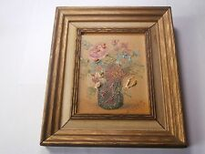 Vintage FRANK LINNELL Small Oil on Canvas Framed Art Associates New York City