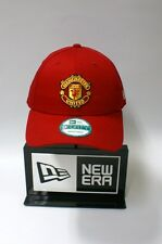 New Era 9FORTY Manchester United Logo Red One Size Strapback Hat Baseball Cap