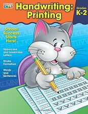 Hand Writing Printing Work Book for Children School Skills Students Math NEW