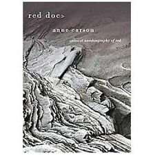 Red Doc  by Anne Carson (2013, Hardcover)