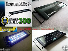 "Beamswork aquarium Power LED 300 light lamp 45-55 cm 17""-21"" tank bright hang on"