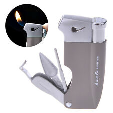 Creative Tobacco Pipe With Tools Butane Gas Cigarette Cigar Flame Smoke Lighter