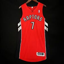 100% Authentic Kyle Lowry Raptors Away Adidas Pro Cut Jersey 40 M - vince carter