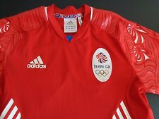 TEAM GB Soccer 2011 Jersey ADIDAS Climacool SMALL Football FREE SHIPPING Red