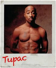 Tupac Shakur Sticker Decal 2pac Gangster Notorious B.I.G Biggie Smalls Polaroid