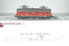 Hobbytrain/Kato 11020 e-Lok, AE 4/4 br 10049 de los SBB CFF, rojo, Top, embalaje original