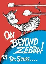 On  Beyond Zebra! by Dr. Seuss  (Hardcover) New