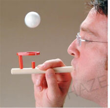 Funny Toy BLOWING Balance FLOATING Wooden Flute Ball Children's Educational Toy