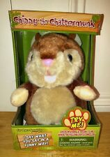 Chippy the Chattermunk Talking Plush Toy by Westminster New in Box