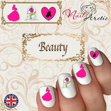 Beauty and the Beast Gr3 Nail Art Sticker Water Decals Transfer Stickers