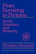 SUNY Series, the Psychology of Women: From Surviving to Thriving : Incest,...