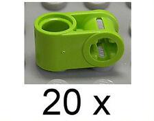 LEGO technique - 20 connexion 90 degrés trou/achsloch Lime-vert/6536 article neuf