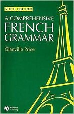 A Comprehensive French Grammar, Price, Glanville, Good Book