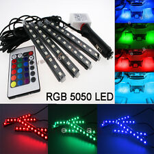 Colorful LED Interior Kit Glow Under Dash Foot Well Seats Inside Light For VW