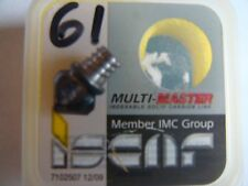 ISCAR MULTI MASTER , IC908 CARBIDE  MILLING INSERT