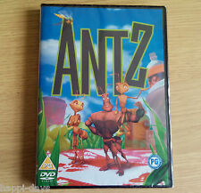 NEW SEALED - ANTZ - Childrens Film Movie DVD Region 2 DreamWorks Animation