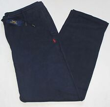 New $125 Polo Ralph Lauren Cotton Navy Track / Athletic / Sweat Pants / 2XLT