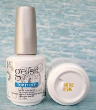 SALE! Gelish TOP IT OFF 01246 Top Coat UV Soak-Off Nail Gel Polish Sealer 0.5 oz