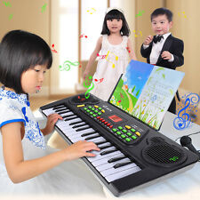 New 37 Keys Music Electronic Keyboard Kid Electric Piano Organ W/Mic & Adapter