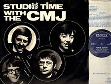 C.M.J. studio time with the cmj LP EX-/VG MSRS 1386 uk emmex beat
