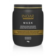 INOAR Macadamia Hair Mask 1KG  Post Brazilian Keratin