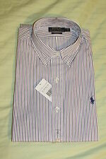 RALPH LAUREN POLO CUSTOM FIT DRESS SHIRT SIZE 15 COLLAR NEW WITH TAGS RRP £82.50