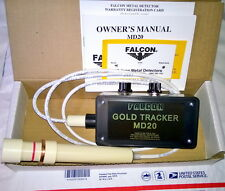 FALCON METAL DETECTOR,MD20, FIND GOLD IN TAILINGS,PANNING & SHALLOW WATER,NIB