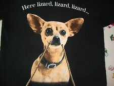Vintage Taco Bell Spanish Speaking Dog Chihuahua Ad 90's 1996 Lizard T Shirt L