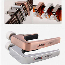 New AROMA AC Guitar Capo Capos Zinc Alloy for Acoustic Electric Guitar