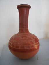 Antique ISLAMIC TOPHANE OTTOMAN/AESTHETIC MOVEMENT Earthenware VASE 19C