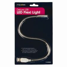Deluxe USB LED Flexi Luce Lampada Per Laptop Notebook Computer PC LETTURA NOTTURNA